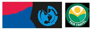 Boek veilig en met garanties, SGR & Calamiteitenfonds logo's